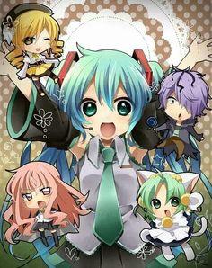 Vocaloid.