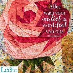 Afrikaans Quotes, Helen Keller, Hart, Quilts, Blanket, South Africa, Sewing, Friends, Amigos