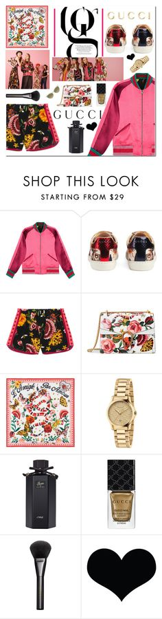 """Presenting the Gucci Garden Exclusive Collection: Contest Entry"" by yagmur ❤ liked on Polyvore featuring Gucci and gucci"