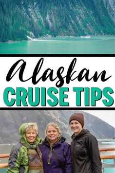 Must-read tips for an Alaskan cruise! Everything from a packing guide (with outfits recommendations), the best excursions, best cruise line, and more! So helpful whether you're doing Princess, Carnival, or a Royal Caribbean cruise with kids OR adults!