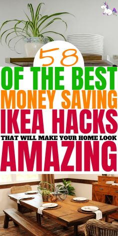 Diy IKEA Hacks that will save you tons of money. These budget DIY projects from IKEA will give you all the home decor inspiration you need! Ikea Hacks, Hacks Diy, Mom Hacks, Home Decor Hacks, Cheap Home Decor, Diy Home Decor, Madurai, Ahmedabad, Best Ikea