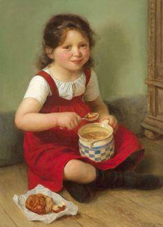 The Meal-Carl von Bergen (1853 – 1933, German)
