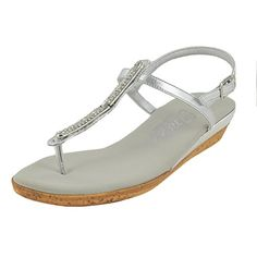 968724fb52a3e Onex Womens Tara Fisherman Sandal Silver 11 M US     See this great  product.(This is an Amazon affiliate link)