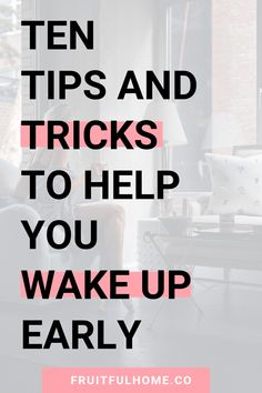 Ten tried and true tips and tricks that will help you wake up early - even if you're a night owl. Self Development, Personal Development, Faith Goals, Morning Affirmations, Quotes About Motherhood, Getting Up Early, Happy Mom, Personal Goals, Night Owl