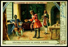 "Man in Iron Mask""  Liebig's Beef Extract "" History of France VIII"" Belgian issue, 1910."