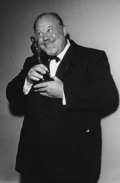 """1959 Oscars: Burl Ives, Best Supporting Actor 1958 for """"The Big Country"""""""