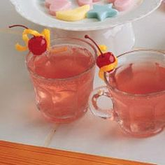 All-Occasion Punch Recipe: Photo - 1 Refreshing Drinks, Summer Drinks, Fun Drinks, Beverages, Ginger Ale Punch, Frozen Lemonade, Smoothie Drinks, Smoothies, Noel