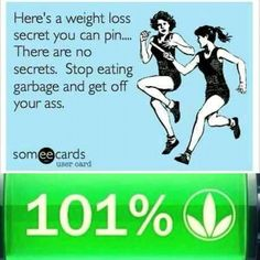 It's funny because it's true.  80% Nutrition %20 Fitness. #8020 #FuelYourBody #Herbalife