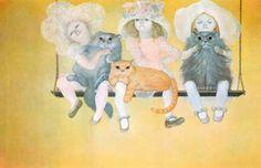 Leonor Fini, 'Splendid Devil' ~ Blog of an Art Admirer