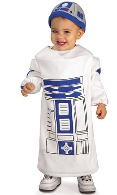 Another Cute R2D2 Kids Costume – Star Wars Kids Clothes – GeekBabyClothes.com