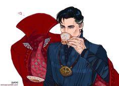 Doctor Strange and Cloak of Levitation
