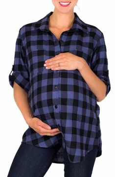 c9dca626c345d Main Image - Ingrid & Isabel Handkerchief Hem Maternity Tank | Maternity  Tops | Pinterest | Handkerchiefs and Nordstrom