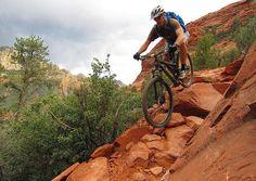 According to Outside, Sedona is a new mountain bike mecca. Photo credit: Paul Prough/Pinterest