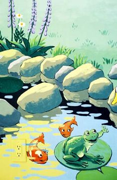 pond mural - Google Search
