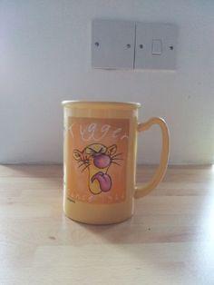 Annoyed mug 'o Tigger...