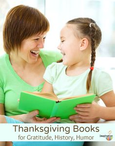 Thanksgiving Books for Kids - love the variety of books in this list!