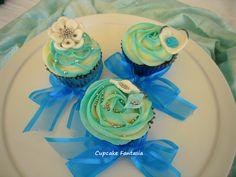 Summer Wedding Cupcakes in beautiful Zante