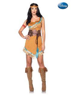 Women's Princess Pocahontas Costume                                                                                                                                                                                 Mais