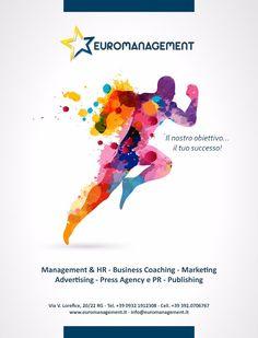 ADV Euromanagement - Consulenza, Marketing, Management, Advertising, Coaching, Editoria, Comunicazione, Web, Real Estate #advertising #magazine #layout #graphic #design #inspiration #campain #pubblicità #media #creative #ideas #photograpy  www.euromanagement.it