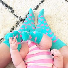 It's all in the family! : @kristyncole #Triangle #HappinessEverywhere #HappySocks #AllAgesWelcome