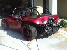 Subaru motor in a beach buggy                              …