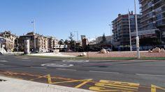 GRANADA | RONDA | Avda Fernando de los Ríos, mirando hacia Rotonda de la Aviación Española.
