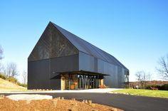 Centro de visitantes destilería Wild Turkey Bourbon / De Leon & Primmer Architecture Workshop (Lawrenceburg, KY 40342, USA) #architecture
