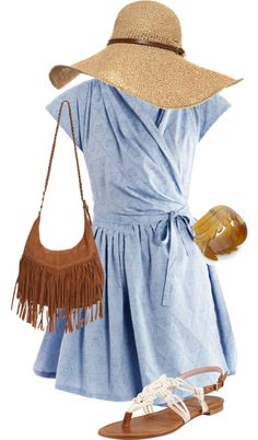 """Casual Summer"" by twifan324 ❤ liked on Polyvore"