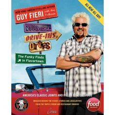Diners, Drive-Ins, And Dives: The Funky Finds In Flavortown (Paperback) Book