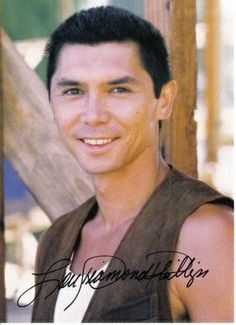 Lou Diamond Phillips - film, tv, stage actor. His mother is Filipino