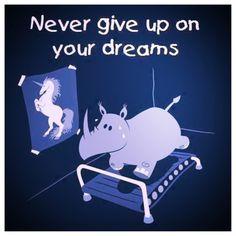 Dream big, be skinny