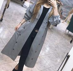 Discover recipes, home ideas, style inspiration and other ideas to try. Modern Hijab Fashion, Muslim Fashion, Women's Summer Fashion, Fashion 2020, Street Fashion, Iranian Women Fashion, Womens Fashion, Mode Abaya, Street Style Women