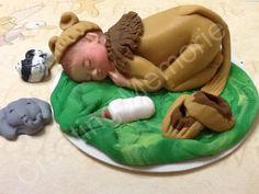 Lyon Baby -  Fondant  Cake Topper -  Large
