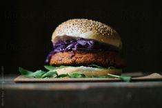 Veggie Burger by Alberto Bogo for Stocksy United