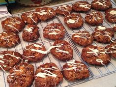 @mmcgal  @martinamcbride  Busy baking today. First up is Triple Chocolate Oatmeal Cookies. Zucchini Bread is next! #aroundthetable Embedded image permalink