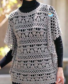 Crochet Sweater: Tunic B