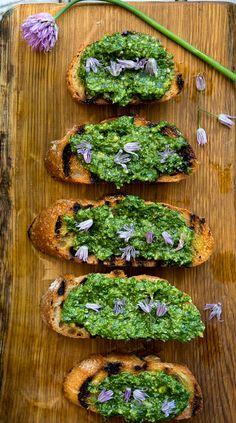 Lovage and Green Garlic Pesto – WILD GREENS & SARDINES