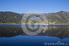 View To Zell Am See Lake Zell & Kitzsteinhorn Stock Photo - Image of lake, zell: 60256910 Zell Am See, Landscaping Images, Salzburg, Autumn Fall, Alps, My Images, Sunny Days, Austria, Colorful