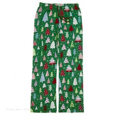 Hatley Women s Pajama Pants PATTERNED TREES PJ sleep
