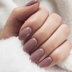 Dusty pink nail polish #nail #nails