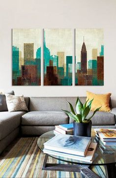 Summer in the City Canvas Print
