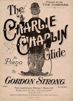 Charlie Chaplin sheet music