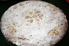 Almond cake for St. Ignatius Day (July 31)  from catholiccuisine.blogspot.com