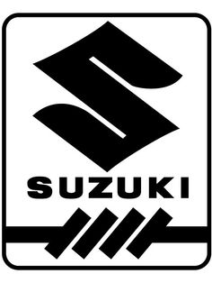 Brand New Suzuki Logo 1 Sticker and in stock. Self-adhesive, die cut, pre-masked and ready to apply to any smooth surface. High glossy finish, cut from premium 3 mill vinyl, with a life span of 5 - 7 years. Several size and color options are available. Moto Suzuki, Suzuki Cars, Suzuki Motorcycle, Motorcycle Logo, Motorcycle Companies, Bike Logo, Vw Eos, Grand Vitara, Suzuki Jimny