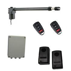 Οικονομικό, πλήρες κιτ μονόφυλλης αριστερής ανοιγόμενης γκαραζόπορτας το οποίο περιλαμβάνει: ένα μοτέρ MPC SW600 (αριστερό), πινακοδέκτη ProfelmNet 2114 σε στεγανό πλαστικό κουτί, σετ ενσύρματα φωτοκύτταρα ασφαλείας και δύο τηλεχειριστήρια. Usb Flash Drive, Usb Drive