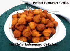 Fried Banana Balls Recipe on Yummly Gourmet Recipes, Dog Food Recipes, Vegan Recipes, Dessert Recipes, Cooking Recipes, Desserts, Banana Ball Recipe, Chamorro Recipes, Chamorro Food