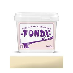 Ivory FondX Rolled Fondant Icing 2lb.  The best marshmallow fondant to buy for professionals & beginners alike edible cake decorations for cake decorators and cake artists.  Colored fondant icing for decorating cake and cupcake and works great with fondant molds and fondant tools.  | CaljavaOnline.com #caljava #fondant #fondx