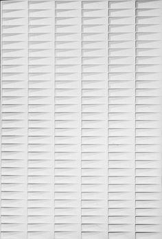 Jan Schoonhoven - Minimal Myth at Boijmans Van Beuningen Piero Manzoni, Contemporary Art Daily, Shades Of White, Texture Art, Textile Patterns, Surface Pattern, Sculpture Art, Pattern Design, Design Inspiration
