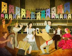 Peta, Painting, Ideas, Youth, Dancing, Illustrations, Musica, Bass Drum, Mercury