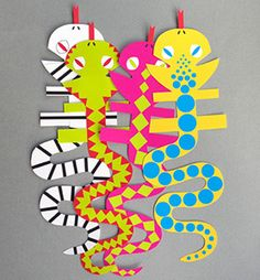 Snake Finger Puppets - Mr Printables